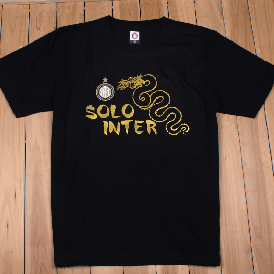 黑白两色国米T恤,罗纳尔多萨内蒂T恤 国际米兰经典T恤 价格:70.00