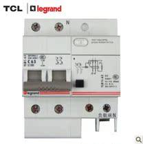 TCL罗格朗断路器2P63A带漏电空气开关TLB1L-63C63/2 正品 价格:168.21