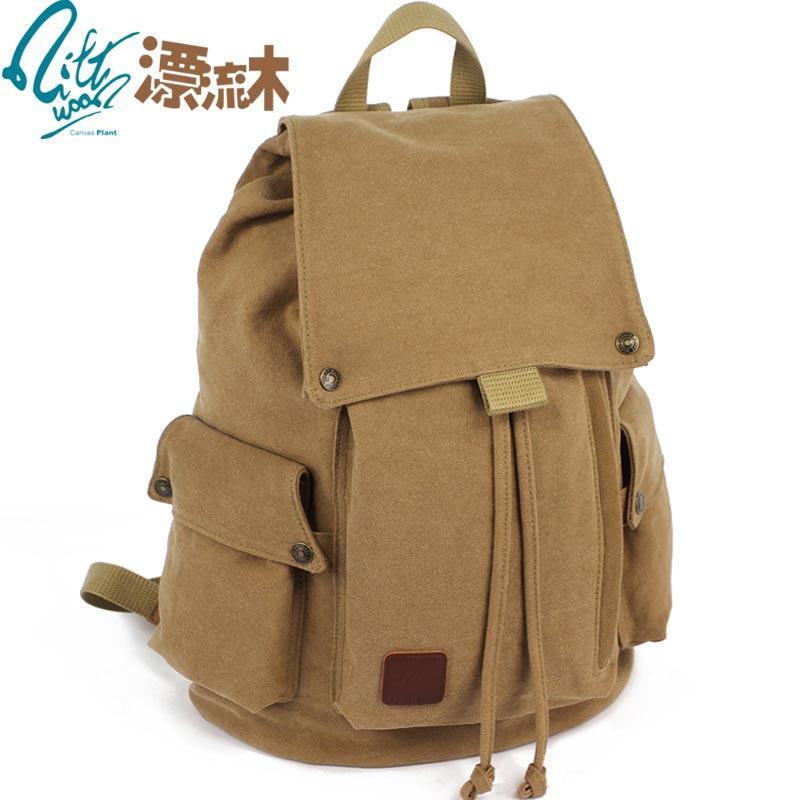 漂流木帆布包电脑包双肩包背包休闲旅行包韩版潮包学生包男包女包 价格:128.00