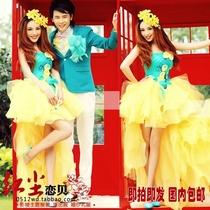 新款主题服装 韩版西装 影楼主题服装 婚纱摄影 外景 情侣写真Q35 价格:138.00