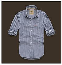 美国A&F正品代购2012新款男装夏装英伦风时尚条纹衬衫多色 价格:385.90
