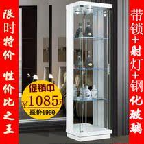 超值爆款正品现代简约时尚玻璃小酒柜家居装饰柜客厅展示柜角柜 价格:1085.00
