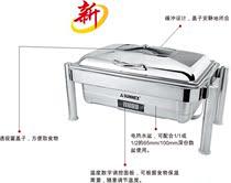 新力士布菲炉自助餐炉翻盖W86-1002G7透视窗带温控数显数控电加热 价格:1240.00