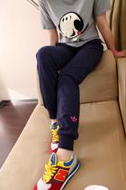 2013秋装新款韩版女装宽松女式运动休闲裤女士薄款卫裤针织裤长裤 价格:53.10
