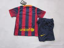 13-14 New Barcelona home kids football soccer jersey shirt 价格:85.00