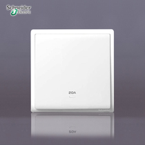 施耐德正品 丰尚系列 20A带氖灯指示浴霸开关 双极开关E8231D20N 价格:69.99