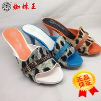2013蜘蛛王正品女凉拖鞋163K671023000白671023680橙671023800蓝 价格:200.00