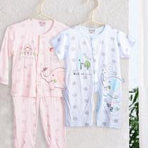 【全国包邮】迪兰宠爱 男女宝宝儿童内衣套 竹纤维空调衫 可批发 价格:14.80