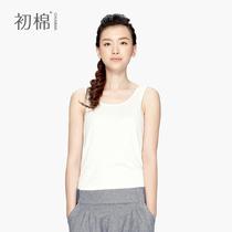 初棉 2013女装夏装新款超显瘦螺纹吊带女士小工字背心女打底衫 价格:45.00