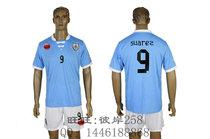 13-14 Uruguay 9 suarez 乌拉圭主场球衣 苏亚雷斯原版印号足球服 价格:88.00