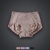 女士生理内裤 中腰 柔软棉质舒蕾丝边生理裤女士三角裤JF5680 价格:35.00