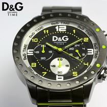 日本正品代购 D&G杜嘉班纳石英运动计时三眼皮带男表 DW0193 价格:1220.00