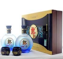 郎酒 精品郎酒华彩人生礼盒两瓶装 礼品酒 郎酒礼盒 价格:218.90