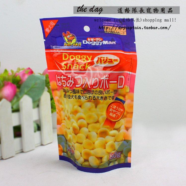 20选3 多格漫蜂蜜味小馒头80克 宠物狗狗零食 磨牙除口臭狗饼干 价格:8.00