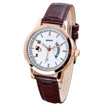 正品迪士尼女表 时尚日历夜光米奇手表 真皮带复古流行韩版时装表 价格:98.00