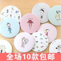 2430 韩国时尚LIVEWORK甜美可爱小镜子/化妆镜随身镜 美容镜批发 价格:1.78