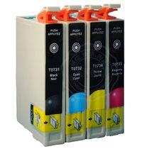 西通  爱普生EPSON CX5900 CX5500打印机 兼容 T0731墨盒 价格:3.80
