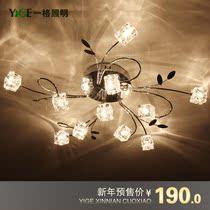 特价水晶灯艺术吸顶灯卧室灯具客厅灯饰书房简约现代时尚创意LED 价格:170.00