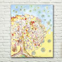 树语抽象色彩无框画客厅装饰书房走廊壁画餐厅挂画卧室玄关现代墙 价格:65.00