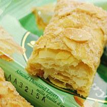 台湾进口零食品特产 77牌蜜兰诺杏仁/扁桃仁千层酥144g 77松塔 价格:17.90