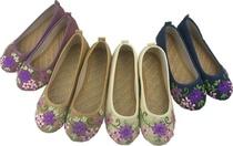 2013精品款布鞋 丝带绣花鞋 麻布鞋 麻布单鞋 民族风WST905 价格:30.00