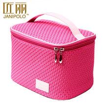 匠丽2013新款潮 韩国超大容量化妆包 箱可爱手提女洗漱收纳包邮袋 价格:49.90