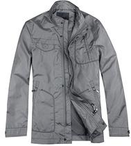 利郎专柜正品春季新款2013 薄款 男装商务休派克衣夹克1CPK0012Y 价格:228.00
