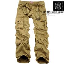麻吉男士休闲裤 宽松大码多袋裤多口袋工装裤 男 长裤子 潮男户外 价格:149.00