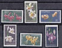 阿尔巴尼亚1970年植物花卉6V 价格:25.00