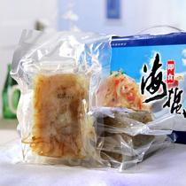 金鹏特级野生海蜇皮海蜇头脆爽海蜇丝开袋即食200g*4袋内附调料包 价格:28.90