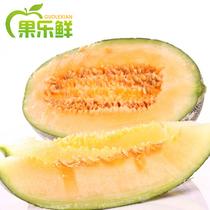 果乐鲜新疆哈密瓜 西州蜜新鲜水果甜瓜香瓜1个 满2个江浙沪皖包邮 价格:26.00