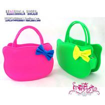 2013最潮最时尚儿童包包 可爱KITTY猫包包 亮色系包包手提包背包 价格:25.00