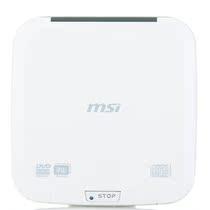 微星(msi)UO882 8速 外置DVD刻录机(白) 价格:259.00