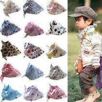 婴儿童三角巾包头巾 男女宝宝口水巾围兜围巾围嘴 出门必备用品 价格:2.49