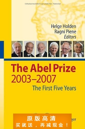 The Abel Prize: 2003-2007 The First Five Years-Helge Holden 价格:7.50