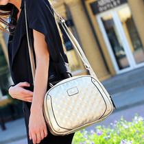 猫猫包袋2013新款韩版时尚休闲菱格包单肩手提包女包潮包M02-167 价格:69.00