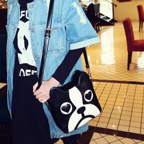 猫猫包袋2013新款包邮卡通可爱狗头包斜挎单肩包潮女包包M06-135 价格:79.00