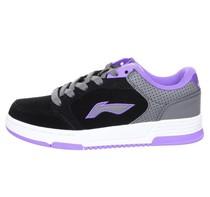 现货当天发正品李宁保暖女鞋女运动鞋女板鞋休闲鞋ALMG038-2-3 价格:149.00