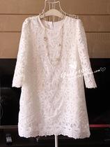 秋冬款 淑女风格甜美蕾丝超美连衣裙 价格:140.00