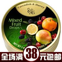 德国嘉云糖糖果水果糖 四季香果 德国进口食品 什锦糖 200g盒装 价格:13.80