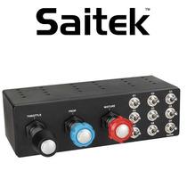 包邮现货 Saitek 赛钛客 TPM单引擎变距桨动力控制单元 TPM Syste 价格:1399.00