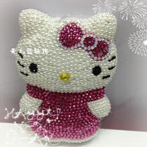 新款KT猫充电宝移动电源 iphone5/4三星充电器DIY奢华水钻 价格:368.00