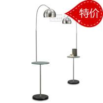 现代落地灯卧室客厅落地灯抛物线钓鱼灯卧室茶几玻璃台 中式灯具 价格:170.00