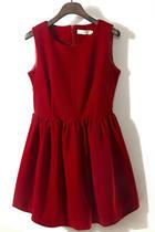 重磅推出 复古名媛风绝美客供丝绒无袖高腰蓬蓬大摆背心连衣裙 价格:66.50