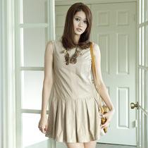 歌莉娅GOELIA韩版修身无袖连衣裙21C4A19B 价格:199.00