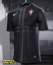 Player version,Top thai,Portugal 2013/14 away black jerseys 价格:68.00