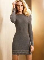 维多利亚的秘密原单 正品女装 剪标 性感露背修身 连衣裙针织衫 价格:128.00