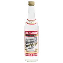 拉脱维亚原装进口【Grafskaya】格拉夫红牌伏特加500ml 40度 正品 价格:28.00