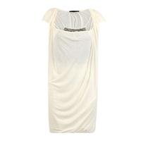 PINKO白色混合材质亮片装饰女士连衣裙 价格:1440.00