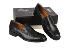 外贸 正品意大利GEOX健乐士会呼吸的鞋 牛皮男鞋低帮鞋 套脚皮鞋 价格:268.00